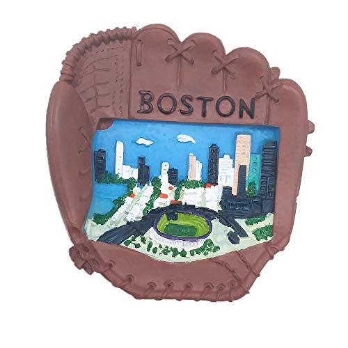 Boston Massachusetts USA Kühlschrankmagnet, Reise-Souvenir, Geschenk, Heim-Küchendekoration, Magnetaufkleber, Boston Amerika, Kühlschrank-Magnetsammlung