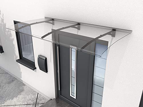 Gutta Pultvordach Vordachsystem Türdach 2000x900x220mm Secco Anthrazit 7200356