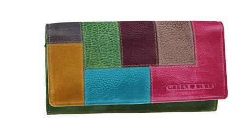 Greenburry Candy-Shop Geldbörse Leder 18 cm