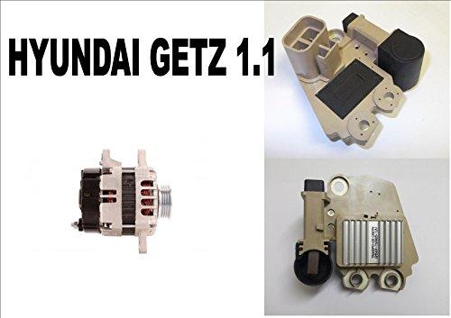 Regulador alternador para Hyundai Getz 1.1 Hatchback 2002 2003 2004 2005 2006...