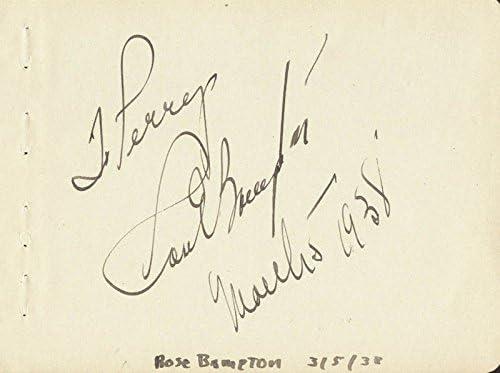 Rose Max 61% OFF Bampton - Inscribed 1938 03 Max 47% OFF 05 Signature