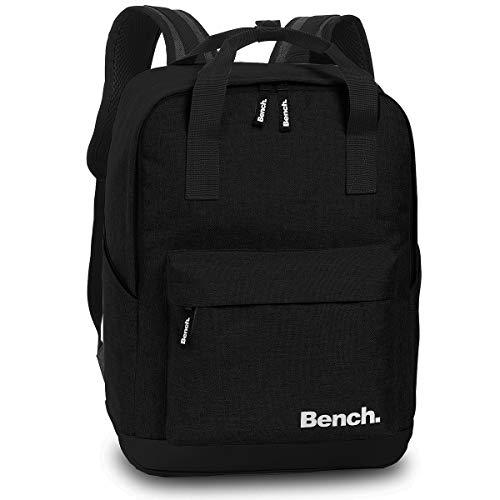 Bench Handtaschen Rucksack City Daypack Backpack 64174, Farbe:Schwarz