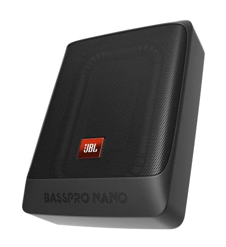 "JBL BassPro Nano Ultra-Kompaktes aktives Untersitz Subwoofer Auto Set 6\"" x 8\"" - 200 Watt Unter sitz Auto Subwoofer Aktiv"