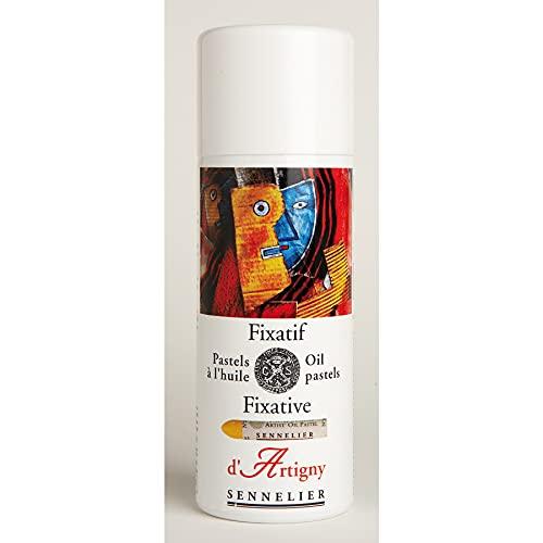 Sennelier D'Artigny Oil Pastel Fixative, 1 Count (Pack of...