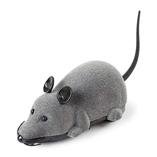 Colorful Katzenspielzeug Mouse Cat Toy, RC Fernbedienung Drahtlose ferngesteuerte Spielzeug Maus Ratte für Haustier Katze Hund