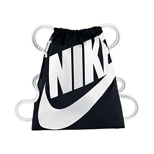 Nike BA5351, Mochila Unisex, Multicolor (blanco / negro), Talla Única (13l)