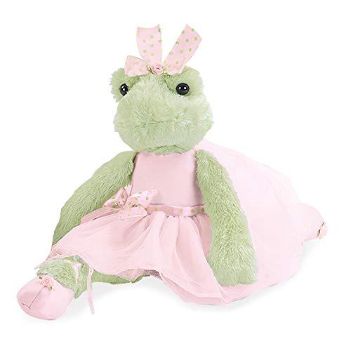 Bearington Juliette Pirouette Plush Stuffed Animal Ballerina Frog 15'