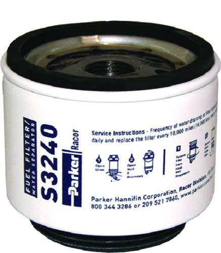 Racor 62-S3240 Recambios cartuchos filtro gasolina, 10 micras