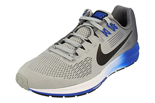 Nike Air Zoom Structure 21, Zapatillas de Cross Hombre, Multicolor (Wolf Grey/Black-Ligh 003), 47 EU