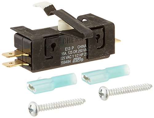 Whirlpool WP 279347 Interruptor de tapa de lavadora y secadora