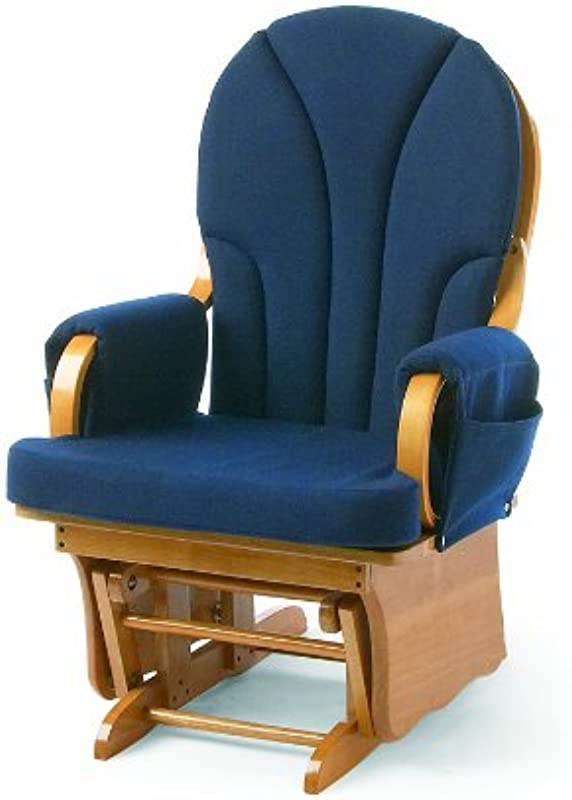 Foundations Lullaby Adult Glider Rocker Natural