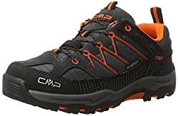 CMP Campagnolo unisex kids kids Rigel Low Shoe Wp trekking & hiking boots, beige (Tortora-Ferrari), 40 EU