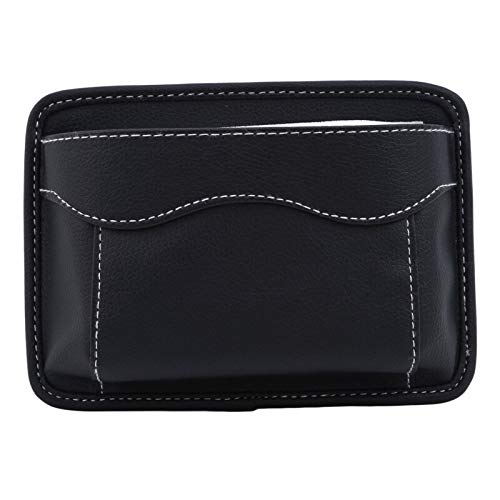 YOUGOUCC Multifunktionsauto-Beutel-Taschen Car-Aufbewahrungsbehälter Beutel sammelt for Karten-Handy Sticky Bag Innenausstattung zubehör (Color Name : Black)