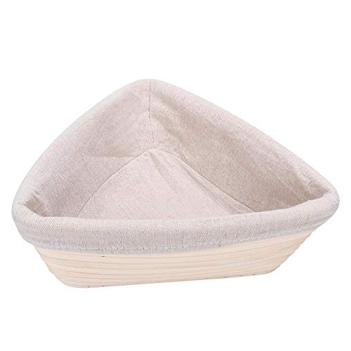 Banneton-rijsmand, driehoekige brood-rijsmand Deeg rijzen oprijzende broodmand Thuisbakgereedschap DIY Brood Banneton-bakmanden