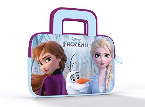 Pebble Gear Frozen 2 Tablet Tasche - Universal Neopren Tragetasche mit Eiskönigin 2-Motiv für 7