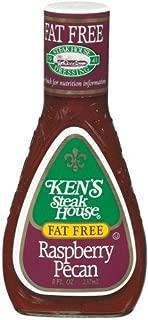 Ken's Fat Free Raspberry Pecan Dressing (Case of 6)