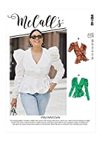 【McCall's】McCall Patterns Misses' & Women's Tops レディース トップス 型紙セット M8146