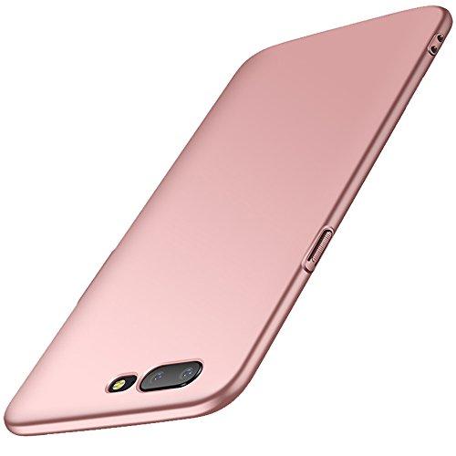 anccer OnePlus 5 Hülle, [Serie Matte] Elastische Schockabsorption & Ultra Thin Design für OnePlus Five (Glattes Rosen-Gold)