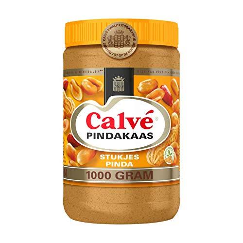 Calve Erdnussbutter mit Erdnussstücken 1000 g - mit echten Erdnussstücken