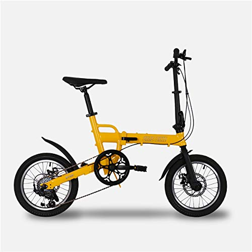 PXQ Bicicleta Plegable para Adultos y Boy Ultralight aleación de Aluminio Marco...