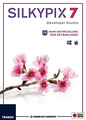 SILKYPIX Developer Studio 7|Version 7|Für bis zu 3 Geräte|RAW-Entwicklung der Extraklasse!|Für Windows PC und Mac OS X|Disc|Disc