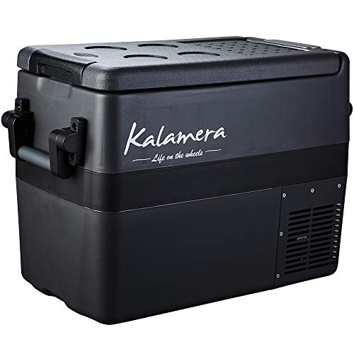Kalamera Portable Refrigerator for Car, 45 Quarts Car Cooler for Camping | -4°F to 50°F Compressor Based Electric 12V Fridge for Vehicles and Trucks | AC and DC Travel Freezer for RV