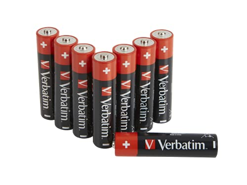 Verbatim - Pilas (Single-Use Battery, AAA, Alcalino, Cilíndrico, 1,5 V, 10 Pieza(s))