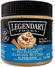 Almond Butter No Sugar Added Blueberry Cinnamon Bun flavored (12 oz. / 10 Servings)