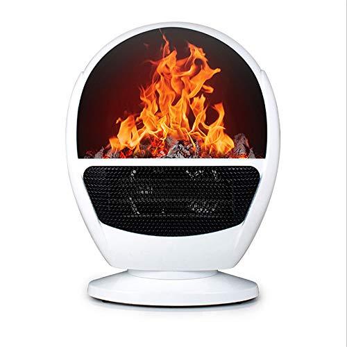 Lydul Draagbare mini-elektrische verwarming, ventilator, ruimteverwarming, winterwarm apparaat, 3 snelheden, snelle verwarming, geschikt voor thuis- en kantoorverwarming