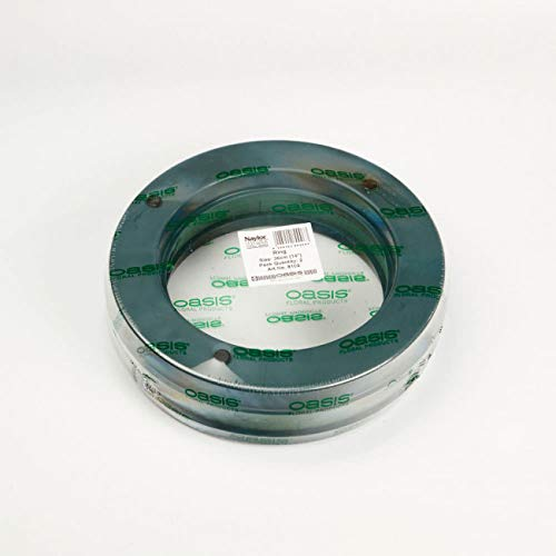 36cm (14') OASIS FLORIST PLASTIC BASE WET FOAM WREATH RING X2 (3150)