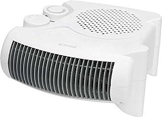 Calefactor con Termostato includono 2variantes de ajuste Ventilador calefactor eléctrico calefactor 2niveles de calor (2000W de alto rendimiento + Protección contra sobrecalentamiento)