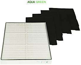 Replacement Whirlpool 1183054K HEPA Filter & 4 Pre-Carbon Filters Fits Whispure Air Purifier Models AP450 and AP510 BY Aqua Green