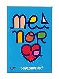 DONSOUVENIR MAGNETICO Menorca. Modelo: YO Amo Menorca. IMAN