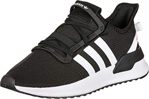 adidas U_Path Run, Sneaker Unisex Adulto, Core Black/Footwear White/Shock Red, 38 2/3 EU ✅