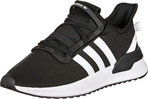 adidas Unisex-Kinder U_path Run J Gymnastikschuhe, Schwarz (Core Black/Ftwr White/Shock Red), 38 2/3