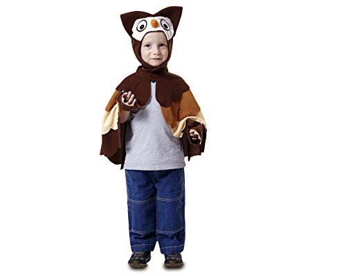 My Other Me - Disfraz de Búho, Talla 3-4 años (Viving Costumes MOM01268)