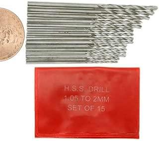 SE High Speed Steel Drill Bit Set (15 PC.)