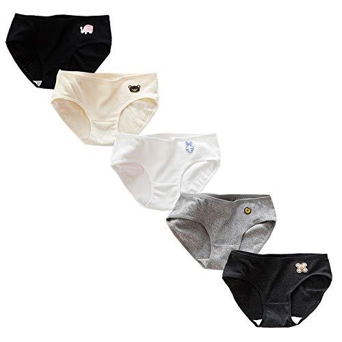 RosaObsta Unterwäsche Baumwollene Unterhosen Unterhose Mädschen Höschen Slips 12-15 Jahre