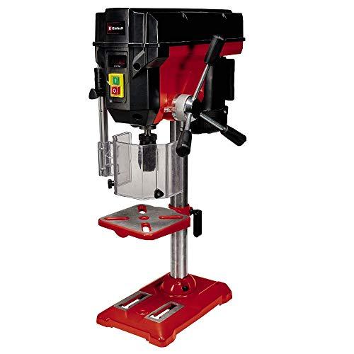 Einhell Máquina perforadora de columna TE-BD 550 E (550 W, regulación de velocidad continua y sin herramientas, mandril portabrocas de sujeción rápida de calidad, tope de profundidad ajustable)
