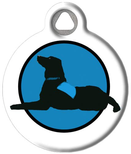 Therapy - Custom Pet ID Tag for Dogs and Cats - Dog Tag Art - Small Size