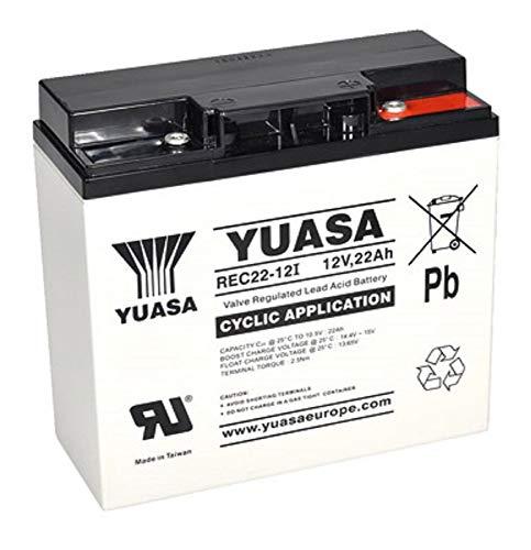 Blei Akku 12V 22Ah AGM Batterie ersetzt 17Ah 18Ah 19Ah 23Ah Zyklentyp AGM -Deep Cycle VRLA Schraubanschluss M5