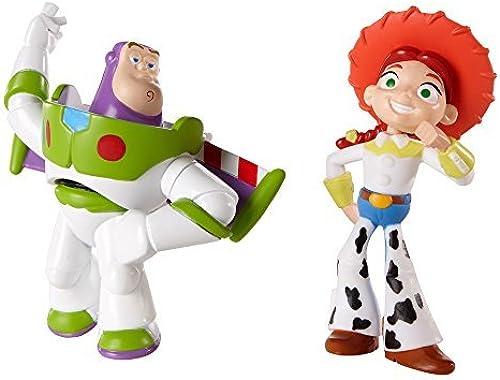 Disney Pixar Toy Story 20th Anniversary Jessie and Spanish Buzz Lightyear Figure Buddy 2-Pack by Mattel