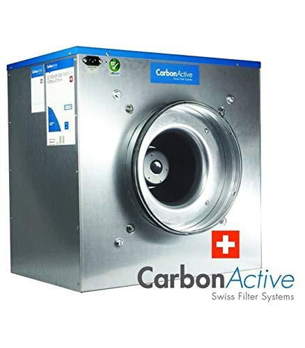 Carbon Active EC Silent Box 5000m³/h 400mm 1400 Pa