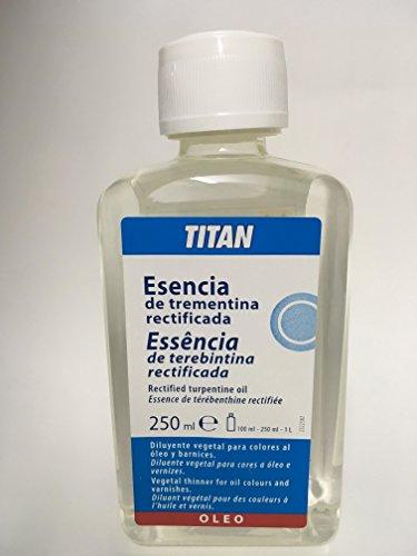 Esencia trementina Titan 250ml