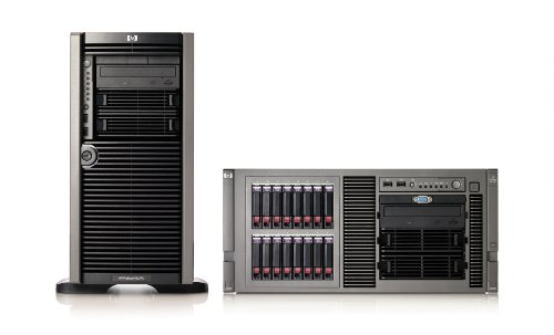 HP ML370 T06 Xeon 5520 Quad Core 2.26GHz 2x2GB RAM Smart Array P410i/256MB Controller 1x460W Hot Plug Power Supply Entry Modell EU