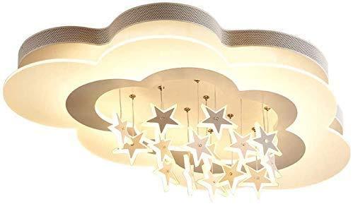 WYXHCJZ Creative-Decke Decke, LED-Decken kreativ sternförmiges Deckensegel Decke Decke Kinderkinderzimmerdecke, Weiss,Beige