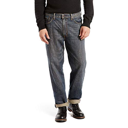Levi's Men's 550 Relaxed Fit Jean - Big & Tall, Range, 52x34
