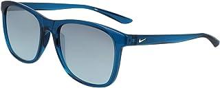 النظارة الشمسية باسج للرجال من نايك، لون ازرق، 55 ملم - EV1199