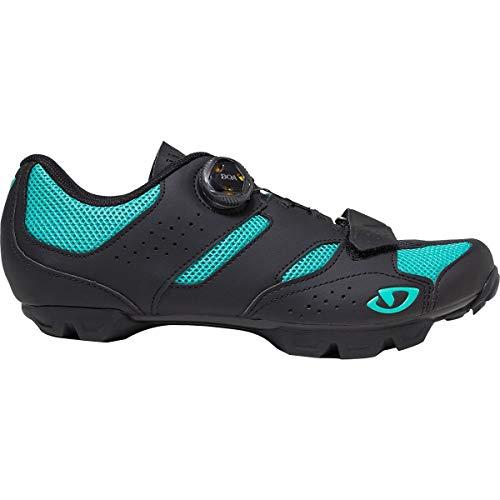 Giro SAGE Limited Edition BOA Mountain Bike Shoe - Women's Black/Teal, 41.0