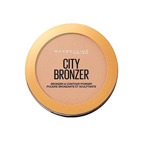 Maybelline New York Terra Abbronzante con Burro di Cacao e Pigmenti Soffici, Effetto Pelle Baciata dal Sole, per un Look Naturale, 200 Medium Cool